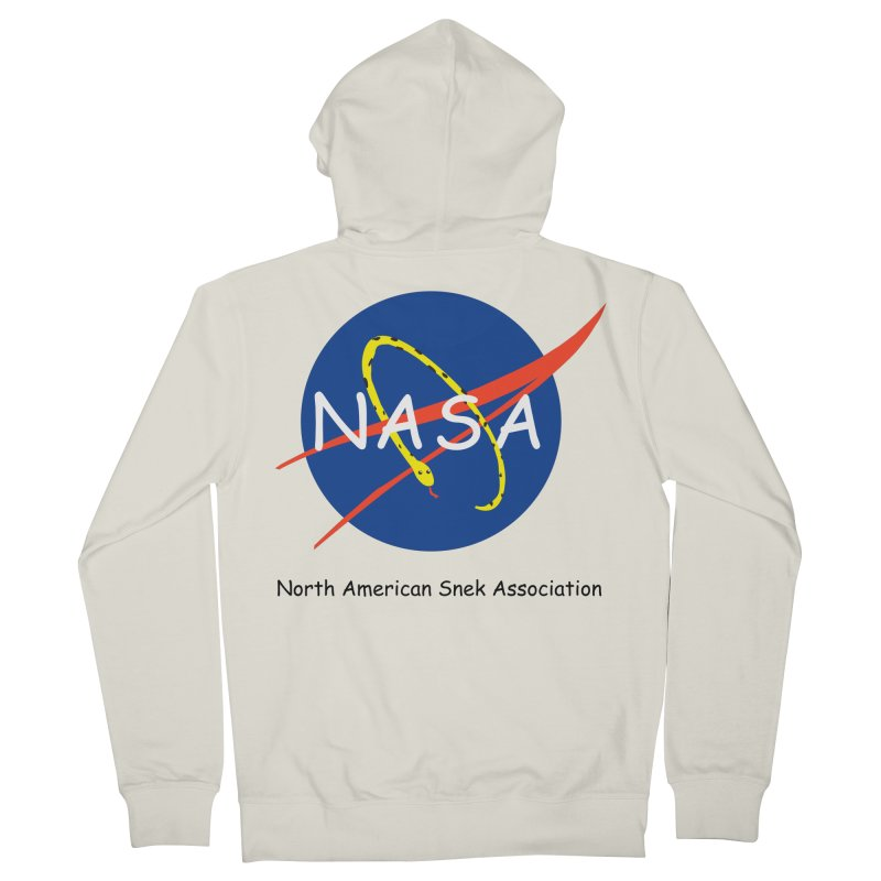 NASA- North American Snek Association Women's French Terry Zip-Up Hoody by theletterandrew's Artist Shop