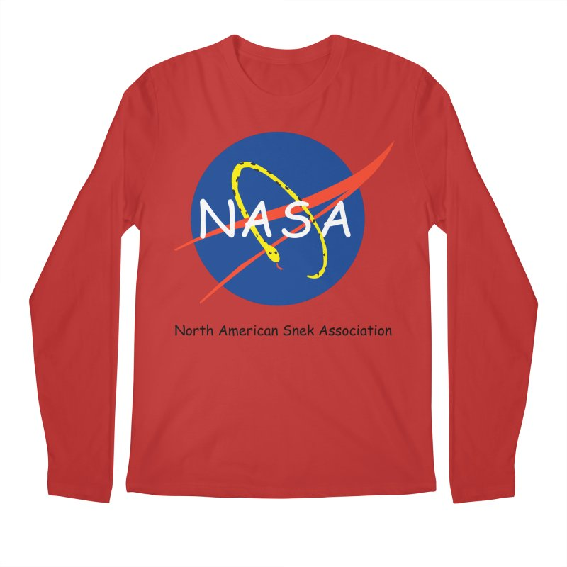 NASA- North American Snek Association Men's Regular Longsleeve T-Shirt by theletterandrew's Artist Shop