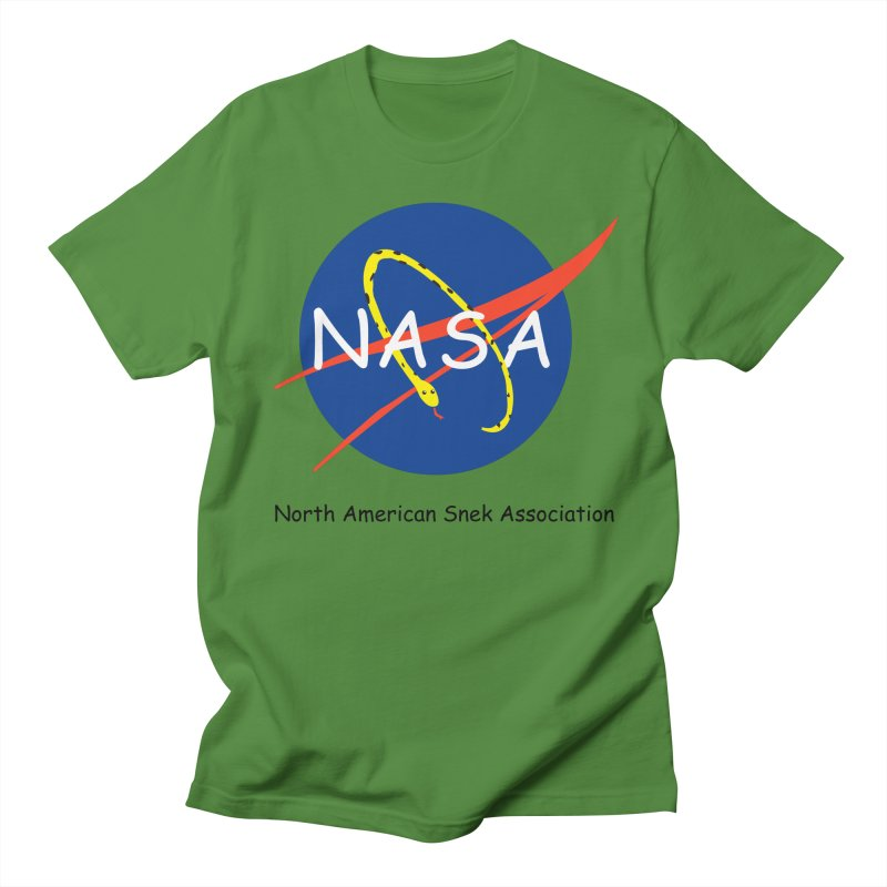 NASA- North American Snek Association Women's Regular Unisex T-Shirt by theletterandrew's Artist Shop