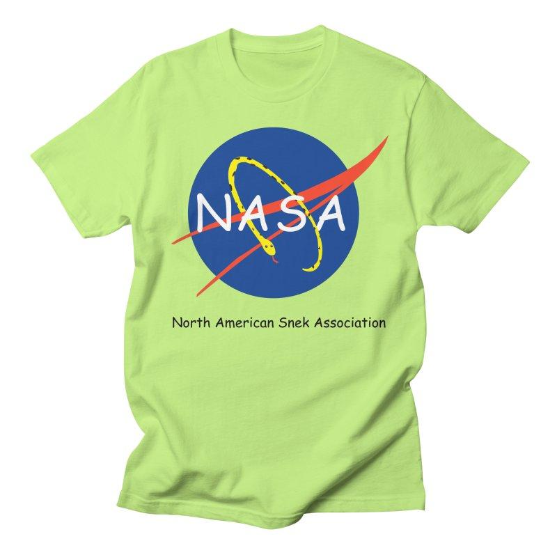 NASA- North American Snek Association Men's Regular T-Shirt by theletterandrew's Artist Shop