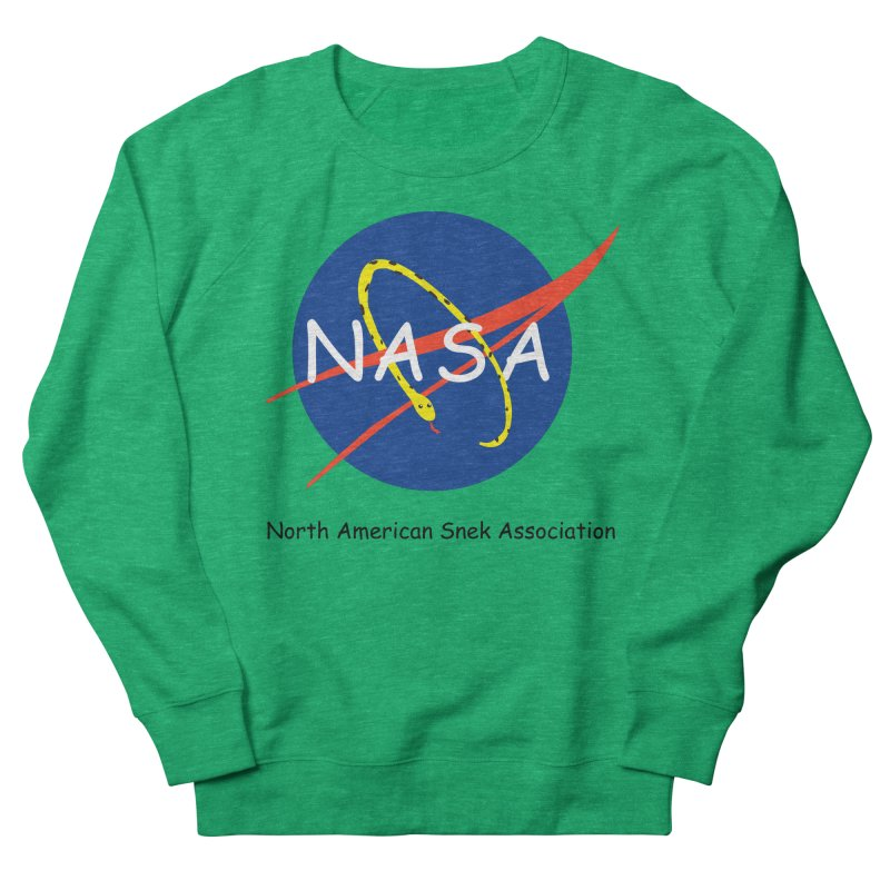 NASA- North American Snek Association Women's Sweatshirt by theletterandrew's Artist Shop