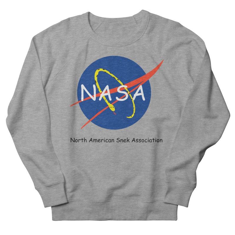 NASA- North American Snek Association Men's French Terry Sweatshirt by theletterandrew's Artist Shop