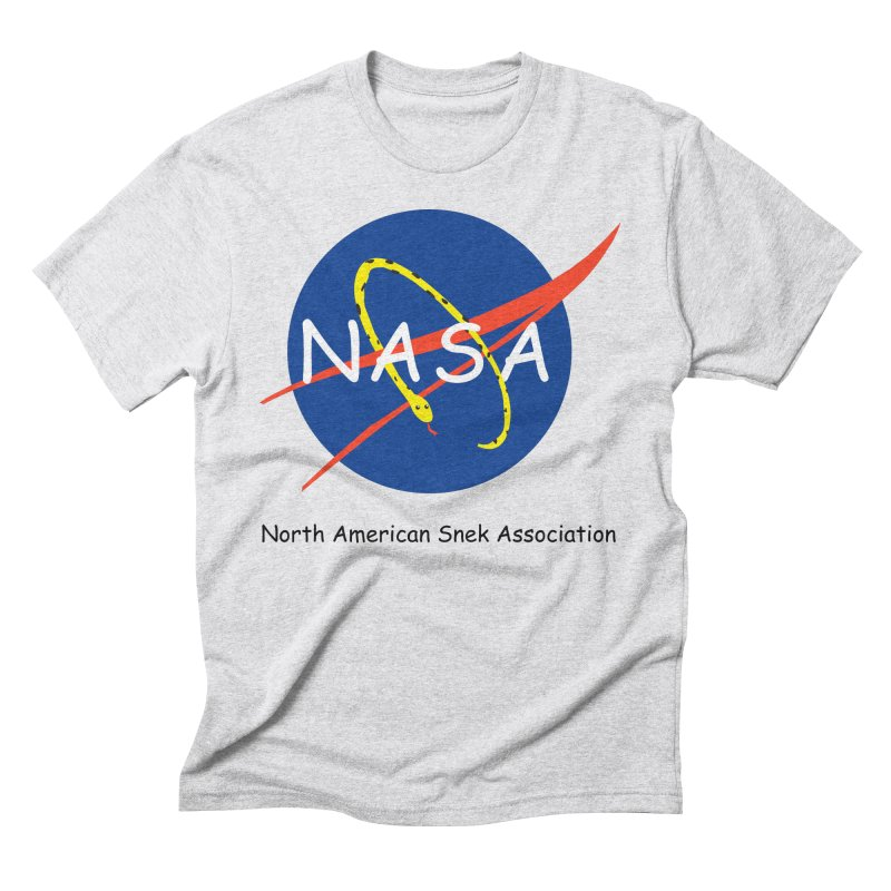 NASA- North American Snek Association Men's Triblend T-Shirt by theletterandrew's Artist Shop