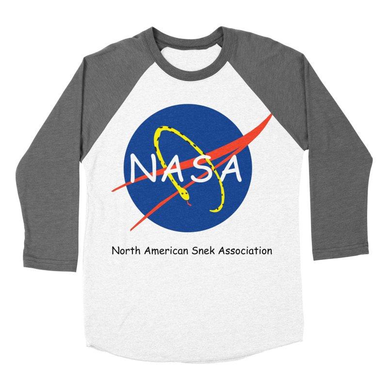 NASA- North American Snek Association Women's Longsleeve T-Shirt by theletterandrew's Artist Shop