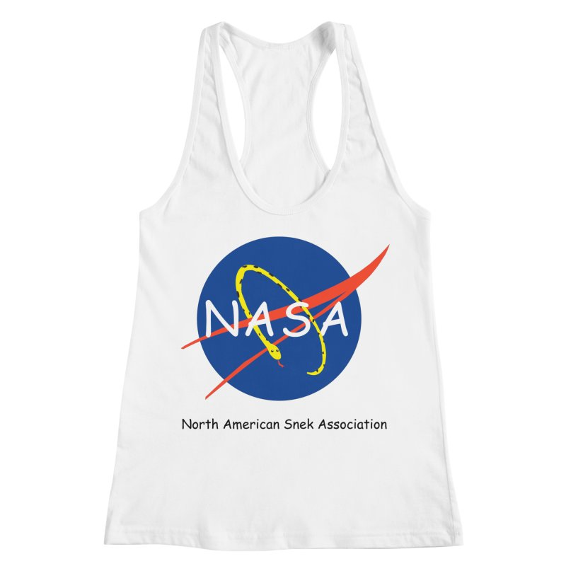 NASA- North American Snek Association Women's Racerback Tank by theletterandrew's Artist Shop