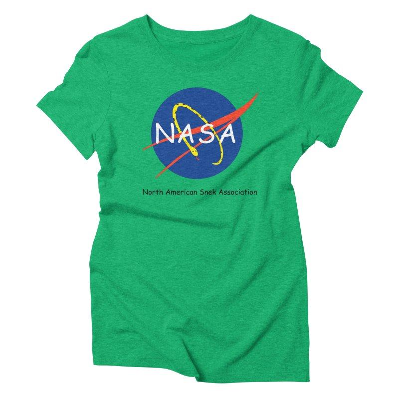 NASA- North American Snek Association Women's T-Shirt by theletterandrew's Artist Shop