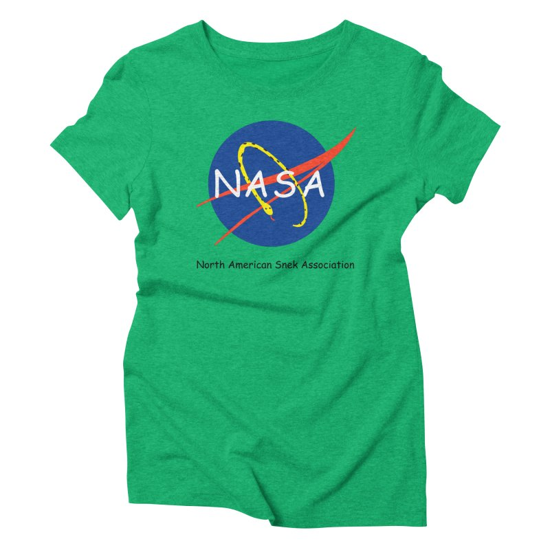 NASA- North American Snek Association Women's Triblend T-Shirt by theletterandrew's Artist Shop