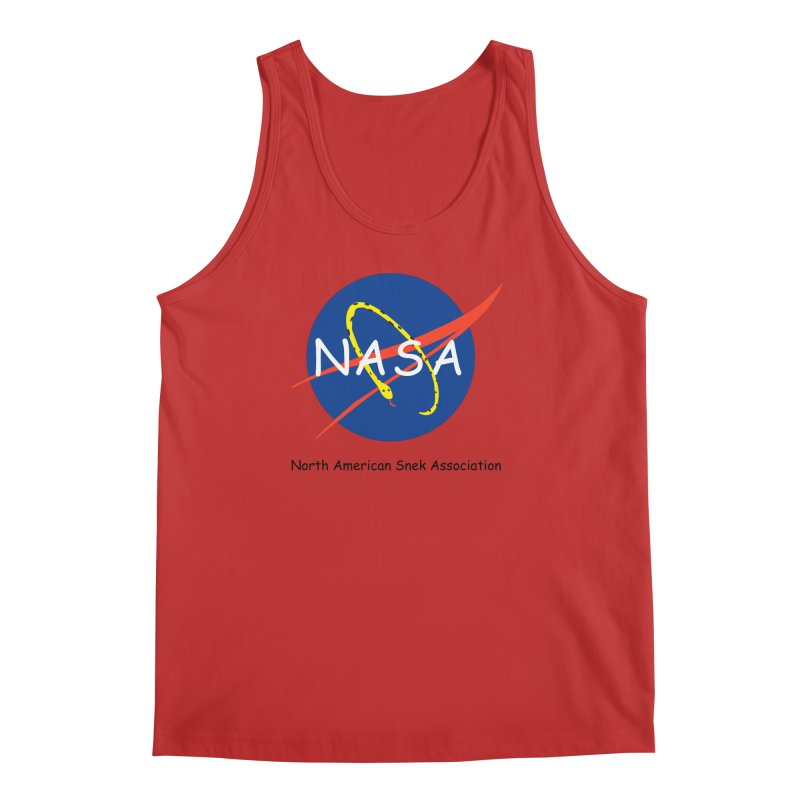 NASA- North American Snek Association Men's Regular Tank by theletterandrew's Artist Shop