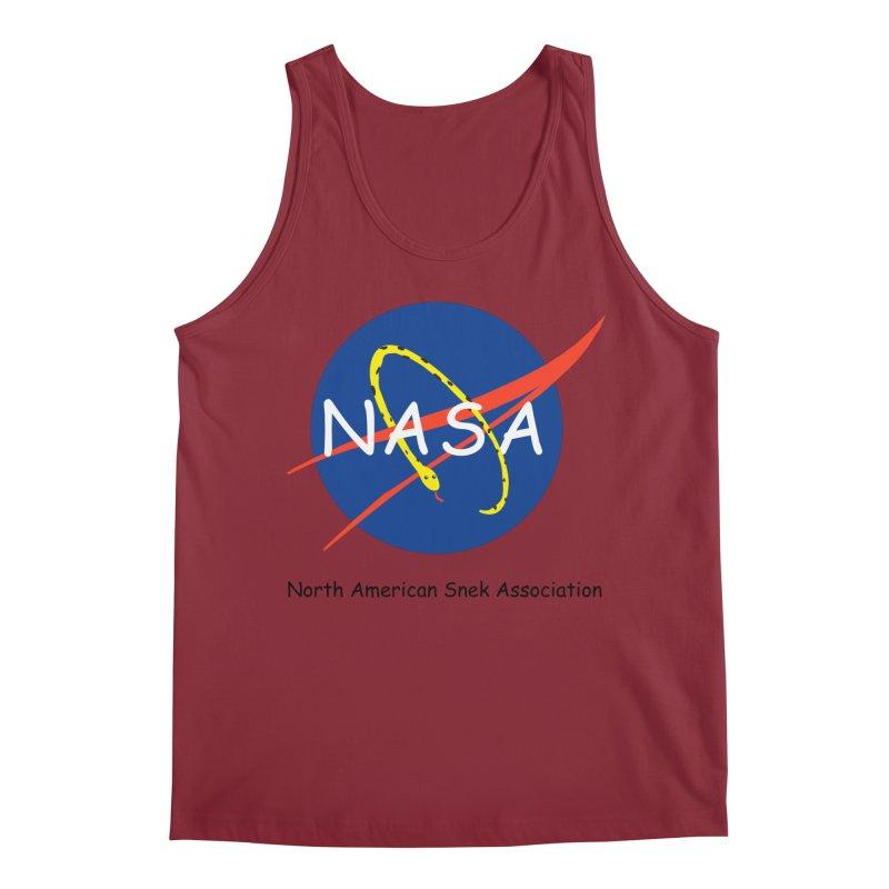 NASA- North American Snek Association Men's Tank by theletterandrew's Artist Shop