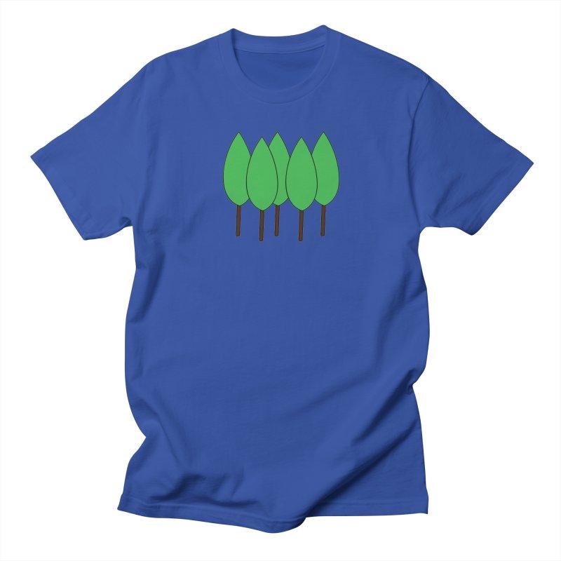 Leaves for the Trees Men's Regular T-Shirt by theletterandrew's Artist Shop