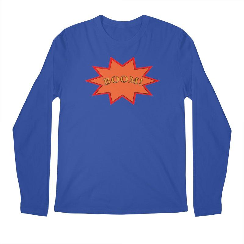 BOOM! Men's Regular Longsleeve T-Shirt by theletterandrew's Artist Shop