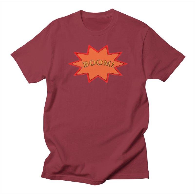 BOOM! Men's Regular T-Shirt by theletterandrew's Artist Shop