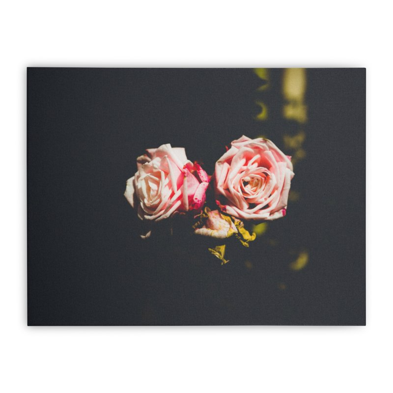 Roses Home Stretched Canvas by thelion's Artist Shop