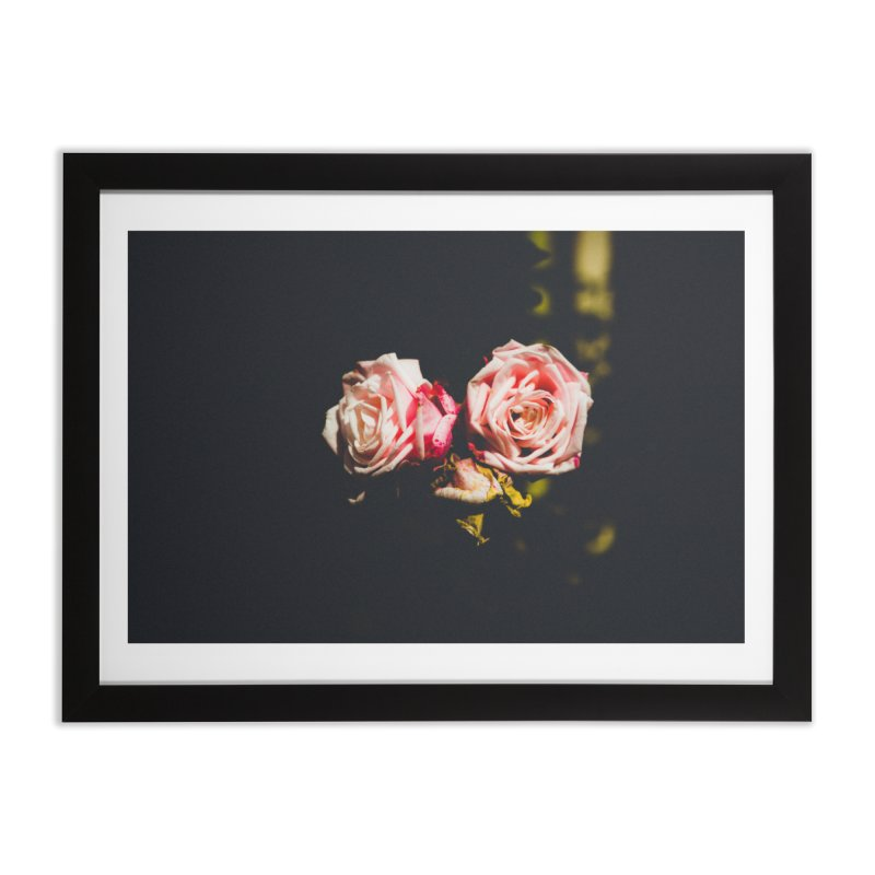 Roses Home Framed Fine Art Print by thelion's Artist Shop