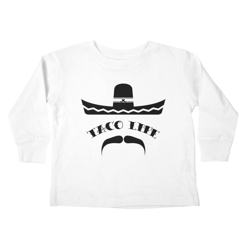 Taco  Life Kids Toddler Longsleeve T-Shirt by The Long Kiss Goodnight's Artist Shop