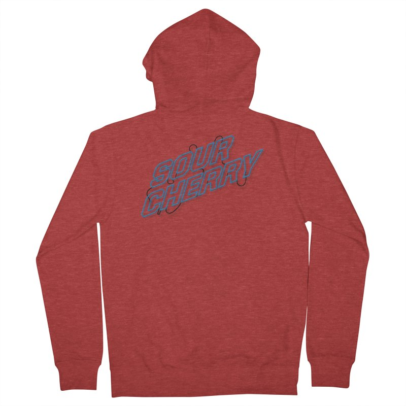 Sour Cherry Women's Zip-Up Hoody by The Long Kiss Goodnight's Artist Shop