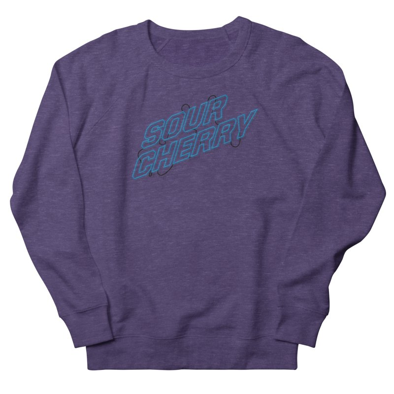 Sour Cherry Women's French Terry Sweatshirt by The Long Kiss Goodnight's Artist Shop