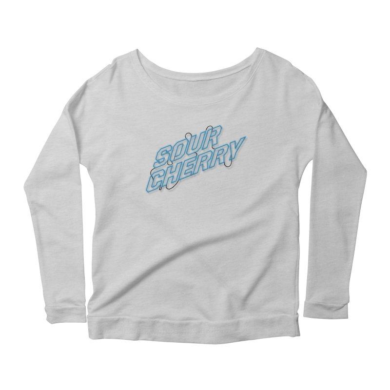 Sour Cherry Women's Scoop Neck Longsleeve T-Shirt by The Long Kiss Goodnight's Artist Shop