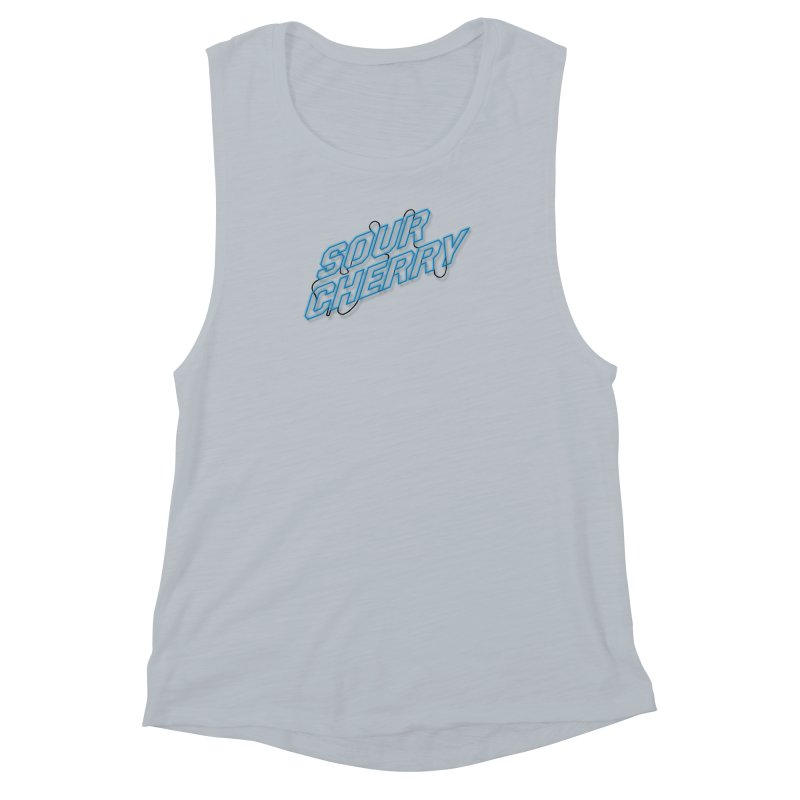 Sour Cherry Women's Muscle Tank by The Long Kiss Goodnight's Artist Shop