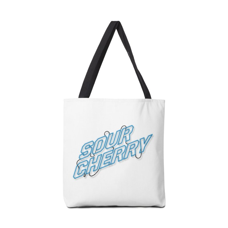 Sour Cherry Accessories Tote Bag Bag by The Long Kiss Goodnight's Artist Shop