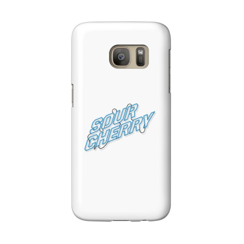Sour Cherry Accessories Phone Case by The Long Kiss Goodnight's Artist Shop