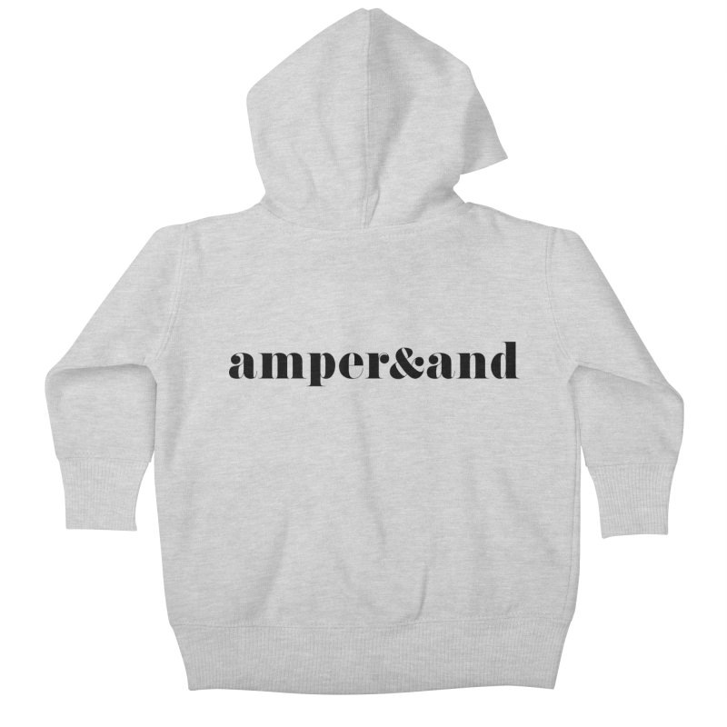 amper&and Kids Baby Zip-Up Hoody by The Lorin