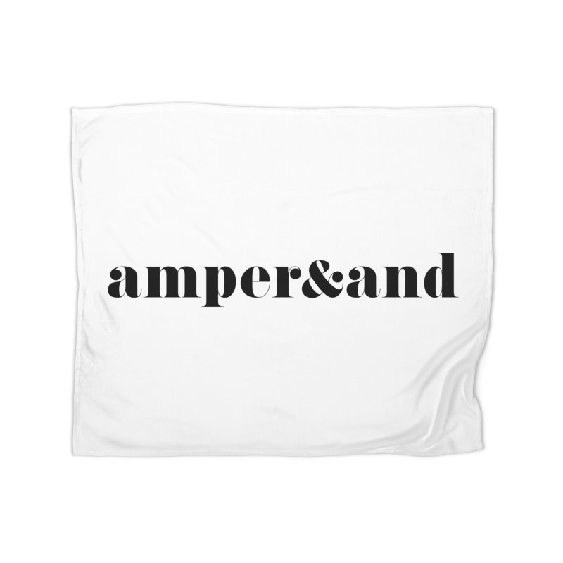 amper&and Home Fleece Blanket Blanket by The Lorin