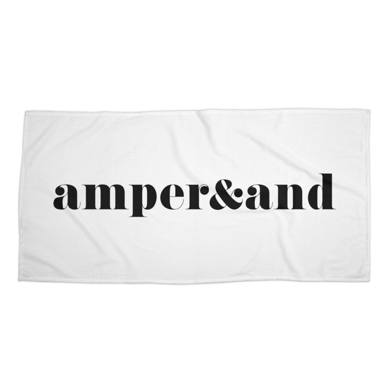 amper&and Accessories Beach Towel by The Lorin