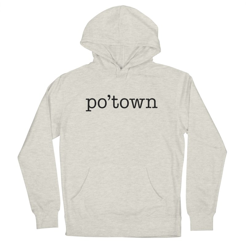 Poughkeepsie, NY  Women's French Terry Pullover Hoody by The Lorin