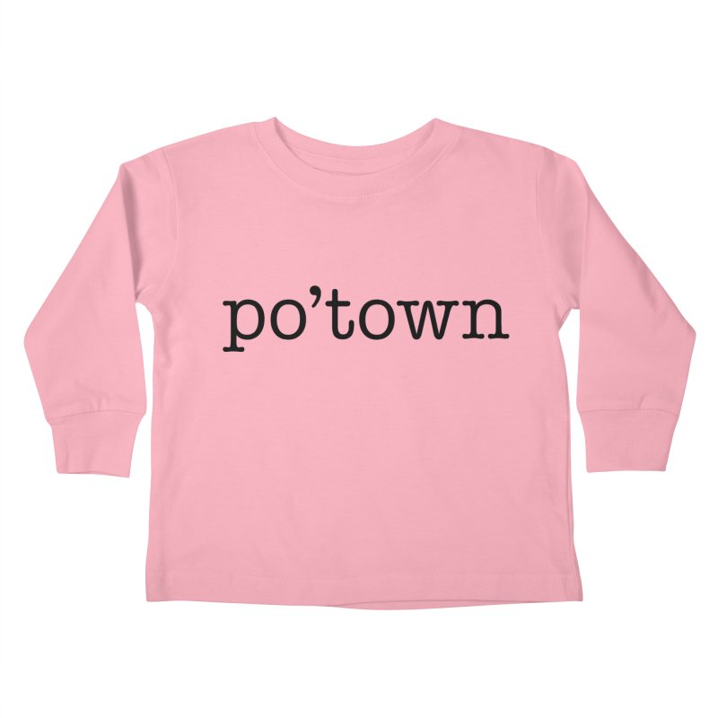 Poughkeepsie, NY  Kids Toddler Longsleeve T-Shirt by The Lorin