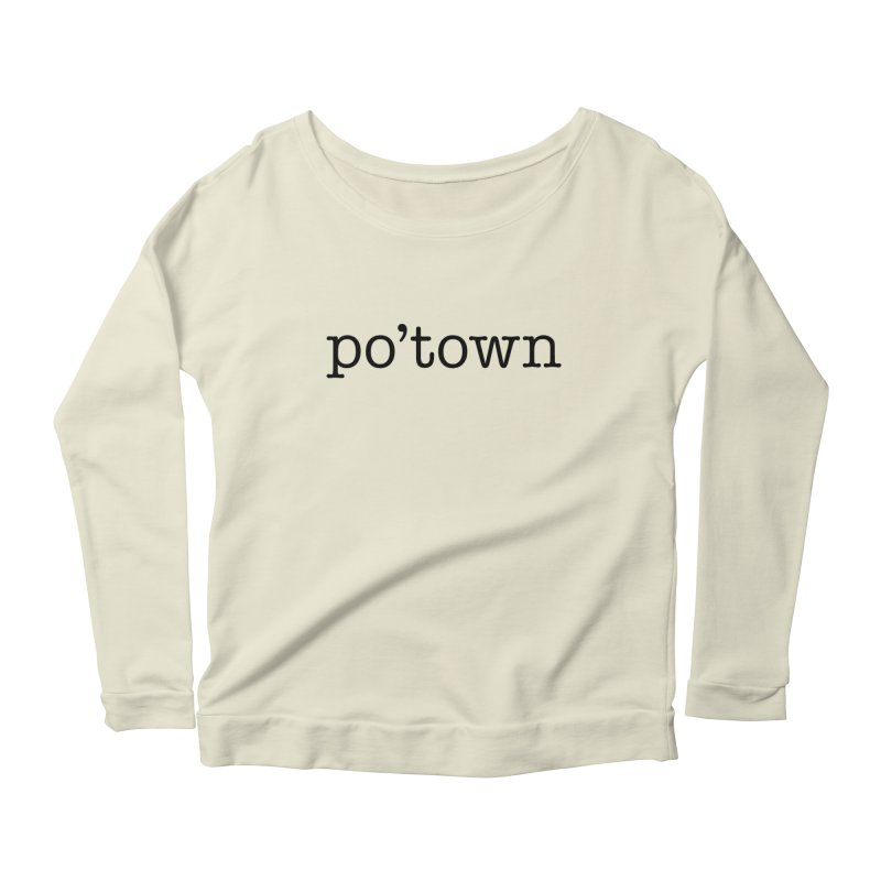 Poughkeepsie, NY  Women's Scoop Neck Longsleeve T-Shirt by The Lorin