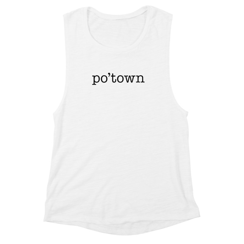 Poughkeepsie, NY  Women's Muscle Tank by The Lorin