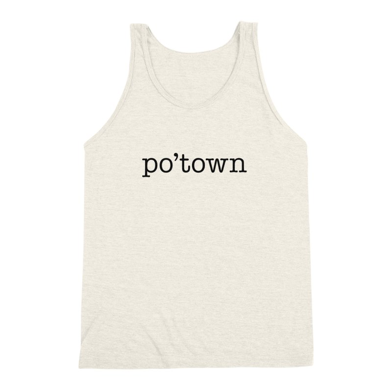 Poughkeepsie, NY  Men's Triblend Tank by The Lorin