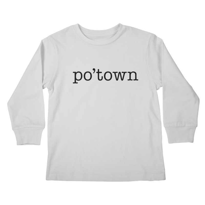 Poughkeepsie, NY  Kids Longsleeve T-Shirt by The Lorin