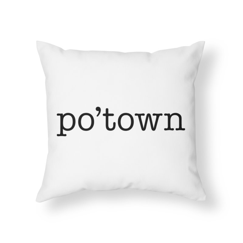 Poughkeepsie, NY  Home Throw Pillow by The Lorin