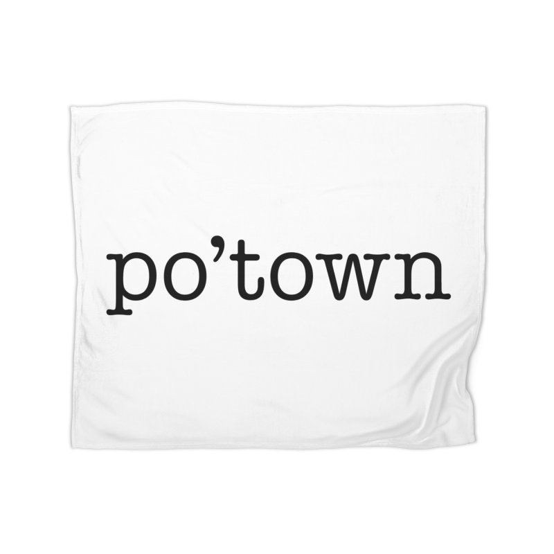 Poughkeepsie, NY  Home Fleece Blanket Blanket by The Lorin