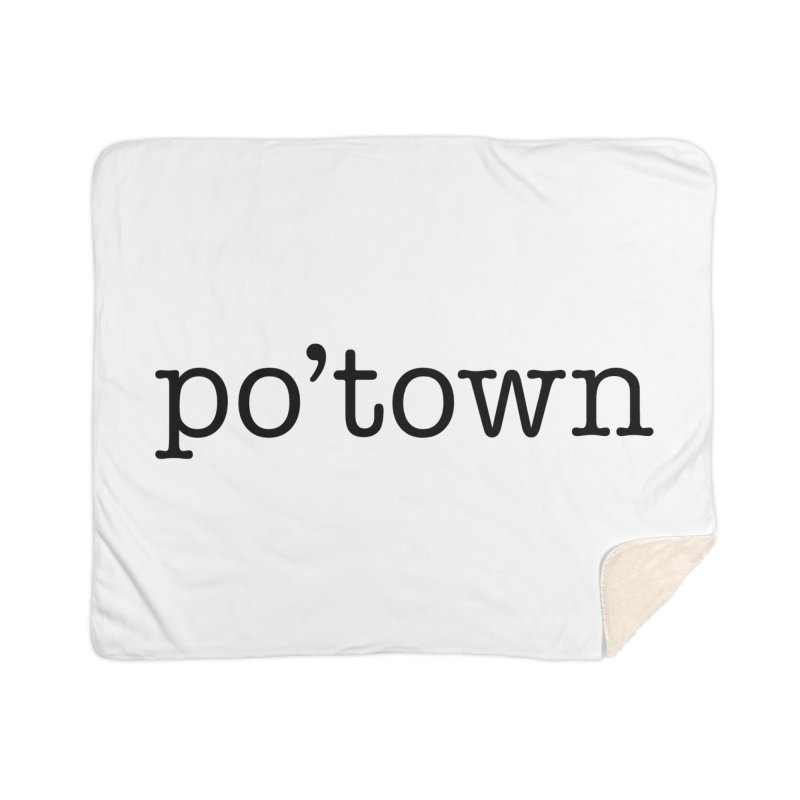 Poughkeepsie, NY  Home Sherpa Blanket Blanket by The Lorin