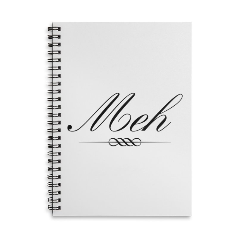 Meh. It's just, you know, meh. Accessories Lined Spiral Notebook by The Lorin
