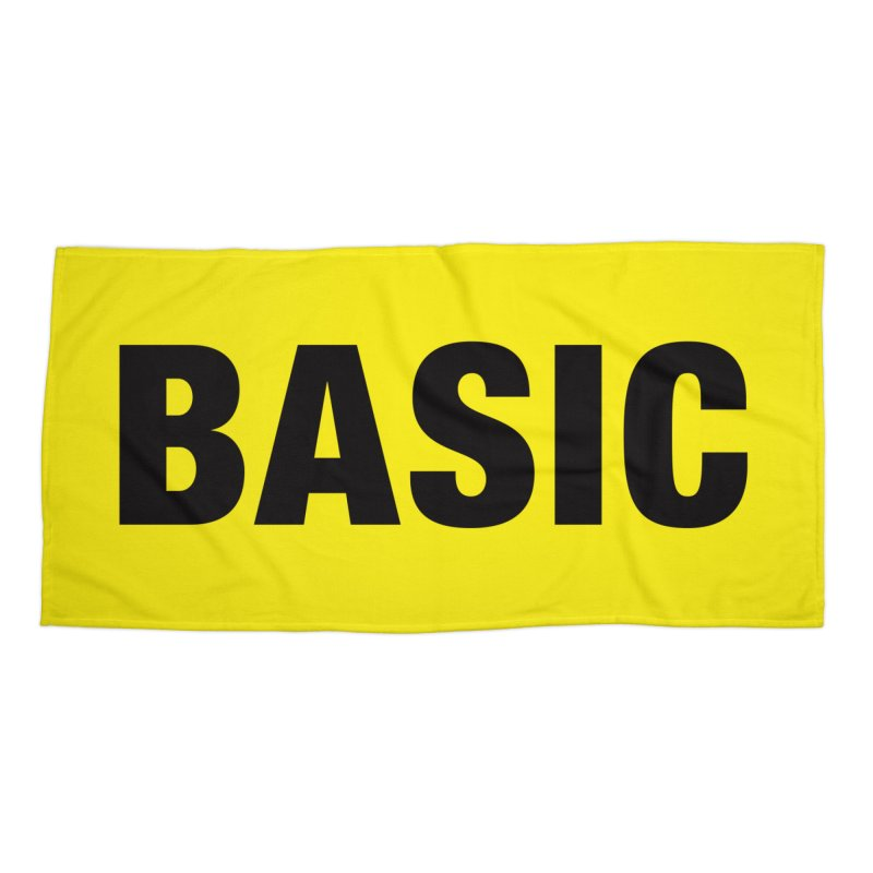 Basic is as basic does Accessories Beach Towel by The Lorin