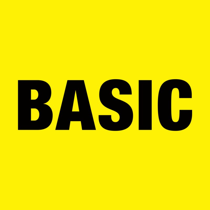 Basic is as basic does by The Lorin