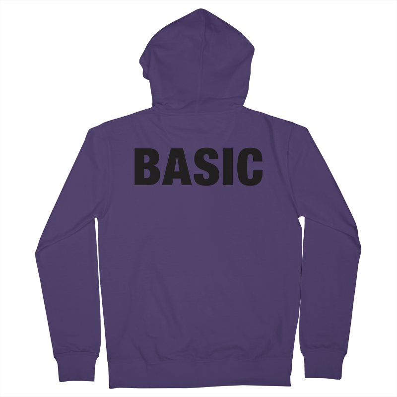 Basic is as basic does Women's French Terry Zip-Up Hoody by The Lorin