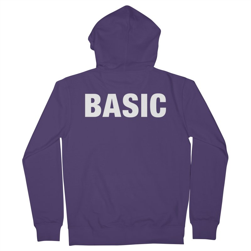 Basic is basic Women's French Terry Zip-Up Hoody by The Lorin