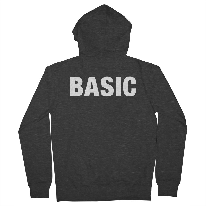 Basic is basic Men's French Terry Zip-Up Hoody by The Lorin