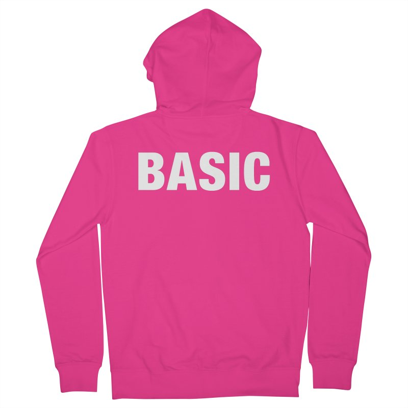 Basic is basic Men's Zip-Up Hoody by The Lorin
