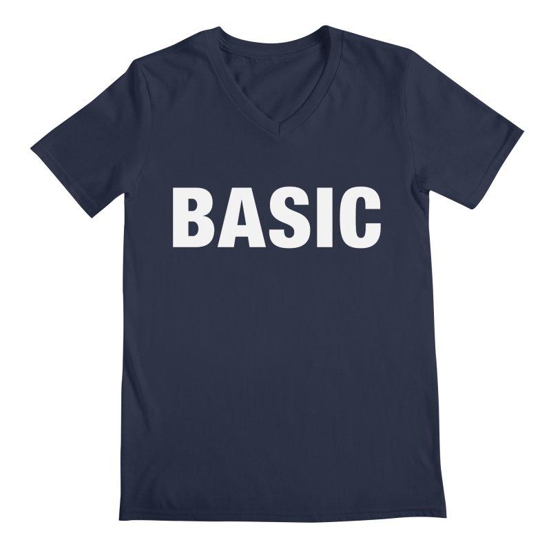 Basic is basic Men's Regular V-Neck by The Lorin