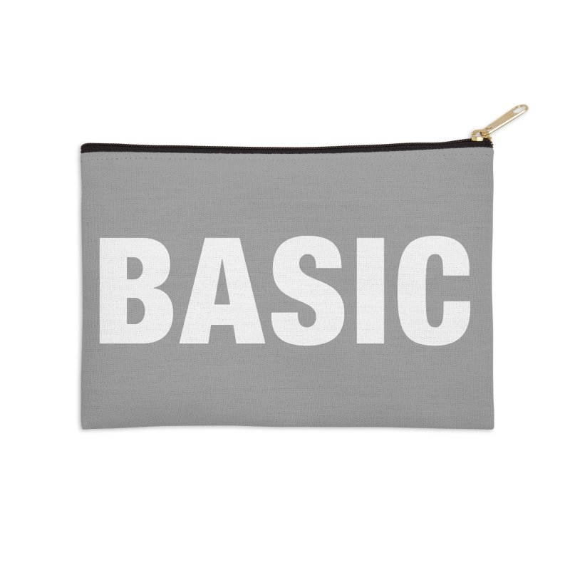 Basic is basic Accessories Zip Pouch by The Lorin