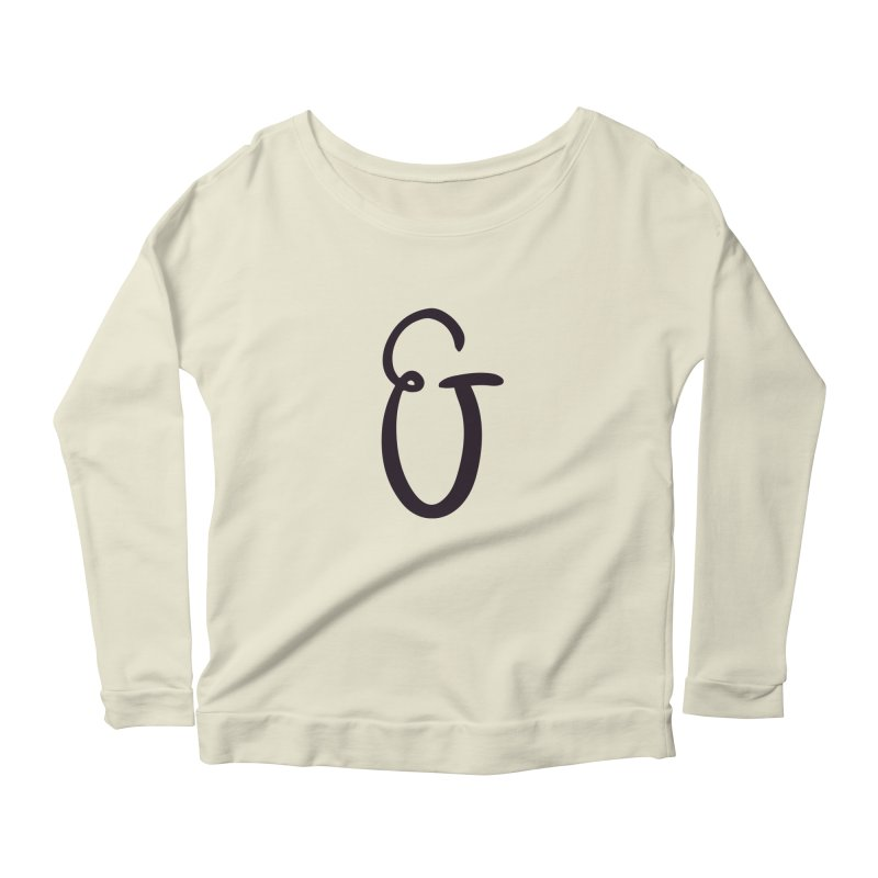And Women's Scoop Neck Longsleeve T-Shirt by The Lorin