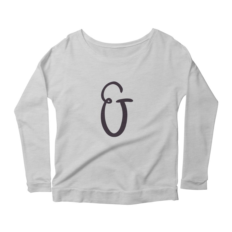 And Women's Longsleeve Scoopneck  by The Lorin