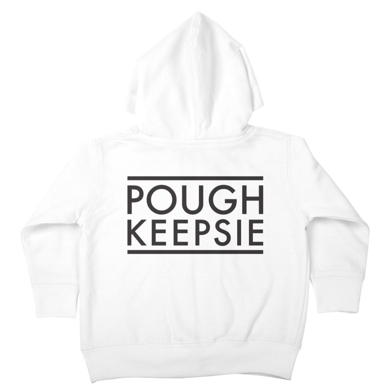 Sweet home Poughkeepsie Kids Toddler Zip-Up Hoody by The Lorin