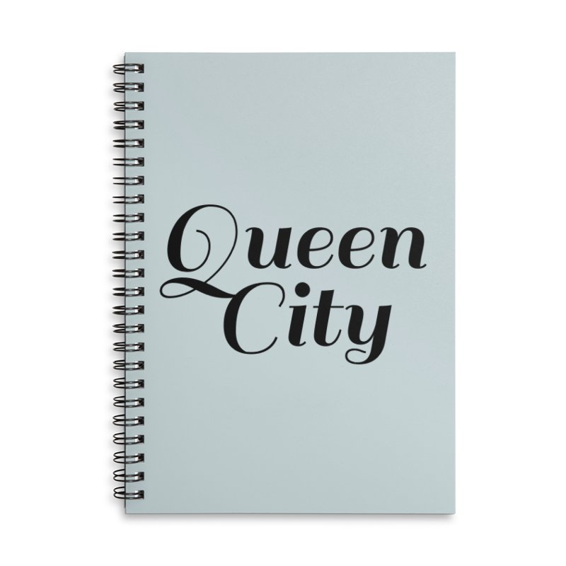 Queen City (Poughkeepsie, NY) Accessories Lined Spiral Notebook by The Lorin